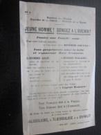 1928 PAGE PROPAGNADE MILITAIRE MINISTERE DE GUERRE DE LA MARINE / HYGIENE  PERPETUER LA BELLE VIGOUREUSE RACE FRANCAISE - Documentos