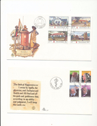 South Africa Transkei 97-100 Medical Pioneers 121-124 Post Offices Day Of Issue Cancel 1982-1983 A04s - Transkei