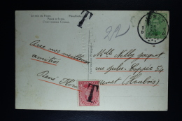Belgium Picture Postcard Jumet Local, 1919 OPB 137 + 138