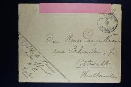 Belgium Cover Belgium Army To Utrecht Holland 1915