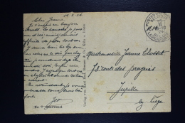 Belgium Picture Postcard Belgium Army In Oberwesel To Jupille 1924 - Oorlog 14-18