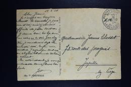 Belgium Picture Postcard Belgium Army In Oberwesel To Jupille 1924