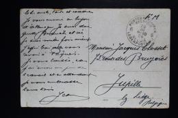 Belgium Picture Postcard Belgium Army  Duisburg  To Jupille 1924 - WW I