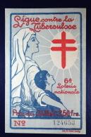 Belgium TBC Lottery Ticket  1926 Cancel Luxembourg