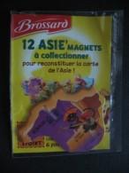 Magnet - Savane Brossard - Carte De L´Asie - Le Kazakhstan - NEUF - Animaux & Faune