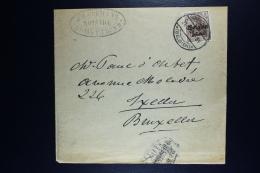 Reich Occupation Belgium  Newspaper Rapper St Truiden To Brussels  1917  Mi Nr 11a III