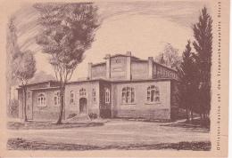 AK Offiziers-Kasino Auf Dem Truppenübungsplatz Bitsch (25588) - Kasernen
