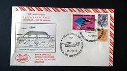 1980   50° CROCIERA ORBETELLO RIO DE JANEIRO - Aerei
