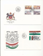 South Africa Transkei 91-92 Independence 113-116 Umtata Architecture Day Of Issue Cancel 1981-1982 A04s - Transkei