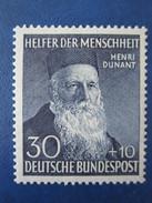 Bund Mi 159 *  Postfrisch Mit Falzrest  , Sonst Einwandfrei - Unused Stamps