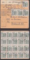 Paketkarte Aus Duisburg BRD, 15 Pf Schloss Tegel Berlin Aus Dem Bogen MiNr. 455, Für 2 Pakete - [7] Federal Republic