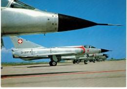 CPM SUISSE THEMES MILITARIA AERONAUTIQUE - Mirage IIIS - 1946-....: Ere Moderne