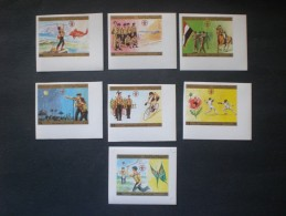 YEMEN 1980 World Scout Jamboree MNH IMPERF !!!! - Yémen