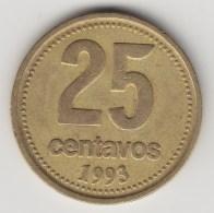 @Y@      Argentinië    25 Centavos  1993     (3536) - Argentinië
