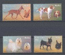 Malta - 2001 Dogs MNH__(TH-17940) - Malta