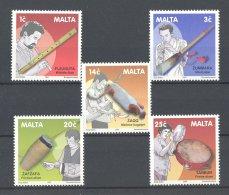 Malta - 2001 Traditional Musical Instruments MNH__(TH-17941) - Malta
