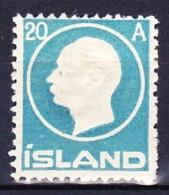 ISLANDE 1912 YT N° 70 * - Nuevos