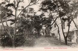 ANNAM - Tourane - Rue Du Colonel Careau - Viêt-Nam