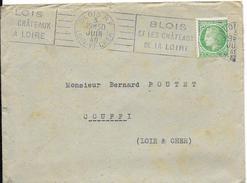 LF 871 Lettre De 1948 De Blois Timbre N°680 - 1921-1960: Période Moderne
