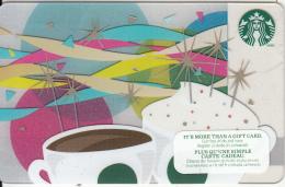 CANADA - Happy Birthday, Starbucks Card, CN : 6096, Unused - Gift Cards