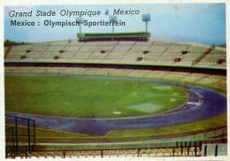 Image, MEXIQUE, MEXICO : Grand Stade Olympique à Mexico - Geographie
