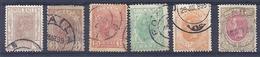 160026748   RUMANIA  YVERT    Nº  99/101/104/106/111/116 - 1881-1918: Charles I