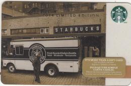 CANADA - Starbucks Card, CN : 6103, Unused - Gift Cards
