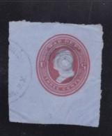 Sc#UO54, 3-cent War Department Official Postal Stationery Corner