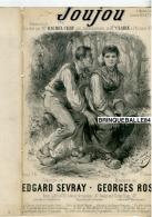 PARTITION XIX CAF CONC COQUIN GRIVOIS JOUJOU PAYSANNERIE SEVRAY GEORGES ROSE 1871 ILL CUISINIER RACHEL CERF ALCAZAR - Autres