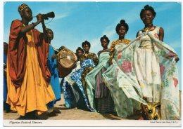 NIGERIA - NIGERIAN FESTIVAL DANCERS (PUBL.JOHN HINDE) - Nigeria