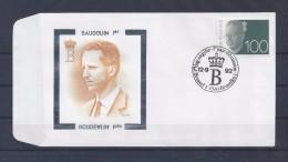 N°2481FDC GESTEMPELD Brussel - Bruxelles COB € 12,00 - 1990-1993 Olyff
