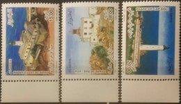Algeria, 2007, Mi. 1510-12, Y&T 1541-43, Sc. 1392-94, SG 1541-43, Lighthouses, MNH - Fari