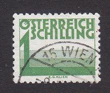 Austria, Scott #J155, Used, Postage Due, Issued 1925 - Taxe