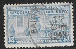 1944 Special Delivery, 13 Cents, Used - Special Delivery, Registration & Certified