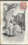 Algérie Sidi Bel Abbés  Une Rue Du Village Nègre  CPA 1906 - Sidi-bel-Abbes