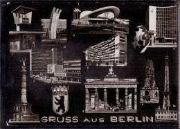Berlin - S/w Mehrbildkarte 344 - Allemagne