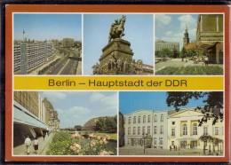 Berlin - Mehrbildkarte 355 - Allemagne