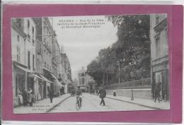 42.- ROANNE .-  Rue De La Côte Jardin De La Sous Préfecture Et Carrefour Helvétique - Roanne