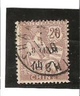 TIMBRES DE 1902 - 06  Avec  Valeur En Monnaie Chinoise  N° 78  Oblitéré - Gebraucht