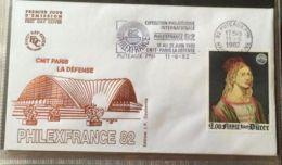 £££ France -  2 FDC 1982 - Philexfrance 82 - CNIT - Non Classés