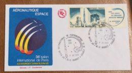 £££ FRANCE - FDC -1985 - Salon Aéronautique - Fusée Diamand - Non Classés