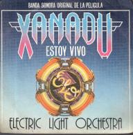 DISCO SINGLE BANDA SONORA ORIGINAL DE LA PELICULA XANADU ESTOY VIVO SUEÑO DE TAMBORES  ELECTRIC LIGHT ORCHESTRA - Música De Peliculas