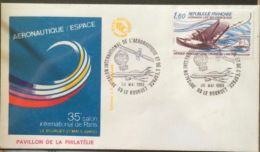 £££ France - 2 FDC 1983 - Hydravion - Bourget - Aéronautique - Non Classés