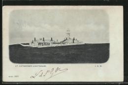 CPA St. Catherine's Point, St. Catherine's Lighthouse, Vue De Phare - Leuchttürme