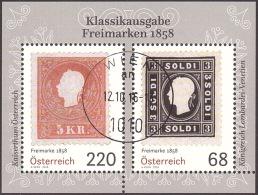 Austria Österreich 2016 Klassische Briefmarken (II) - Freimarken Von 1858. USED / O / GESTEMPELT - 1945-.... 2. Republik