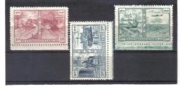 BAU1254 TSCHECHOSLOWAKEI CSSR 1949 MICHL  572/74 ** Postfrisch Siehe ABBILDUNG - Checoslovaquia