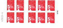 "Carnet Du Type ""Marianne Du 14 Juillet"" 3419-C10 - Carnets"