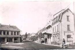 Voujeaucourt -rue De  La Gare CPA - Montbéliard