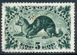 TUVA - 1938 - SCOTT 99 - ERMINE 5 KOPEK GREEN - 1935-SERIE WITH NEW COLOR - Tuva