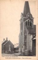 C P A Carte Postale De Buire-sur-l´Ancre Somme 80 Place Et Monument - Frankrijk